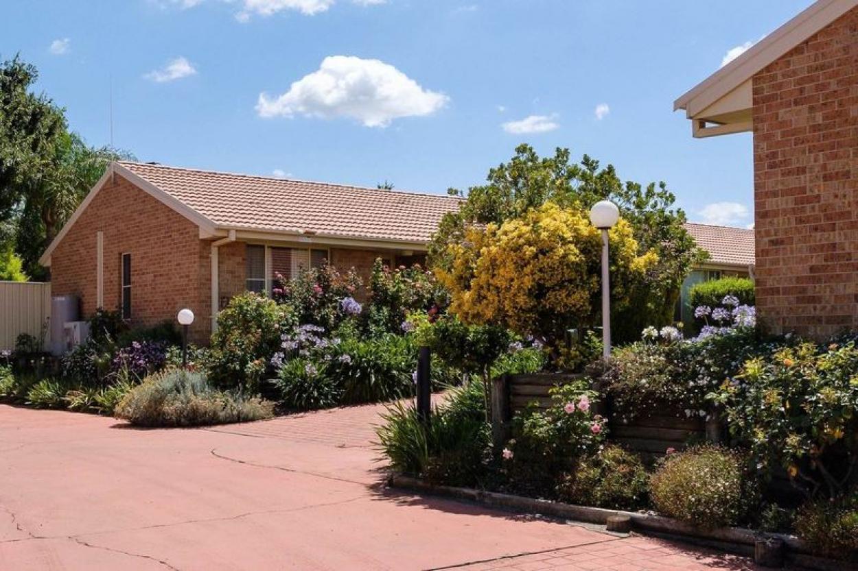 Spacious villa with garage and large backyard