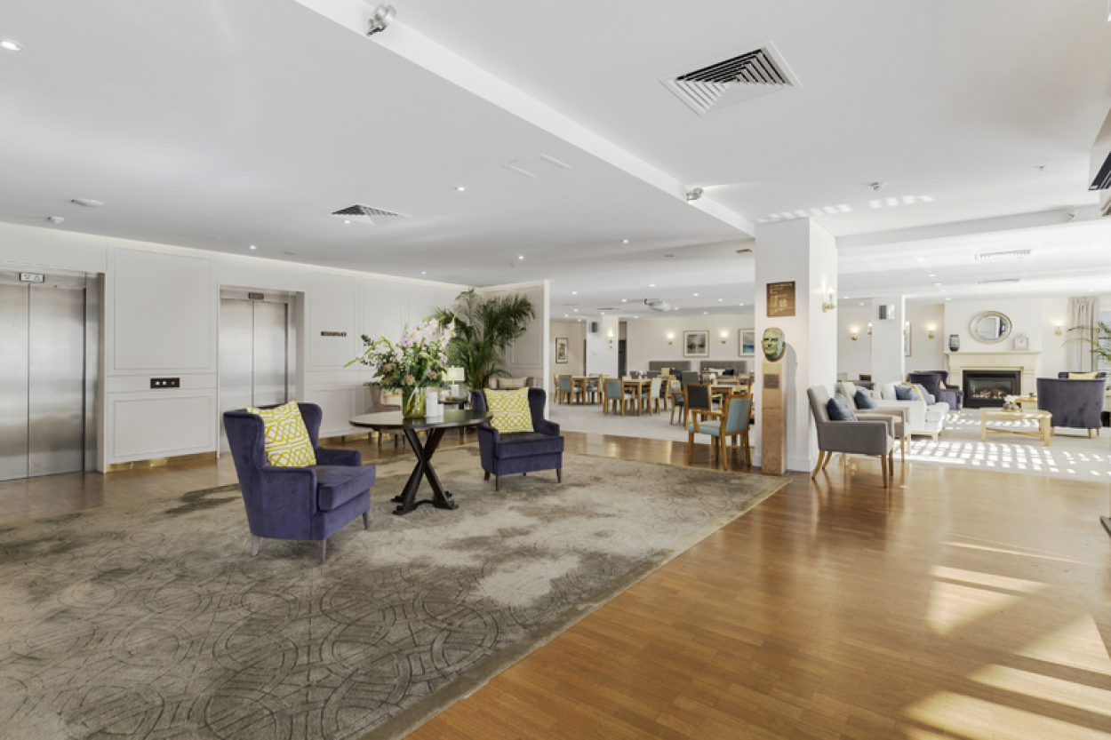 Open-plan living, perfect for entertaining