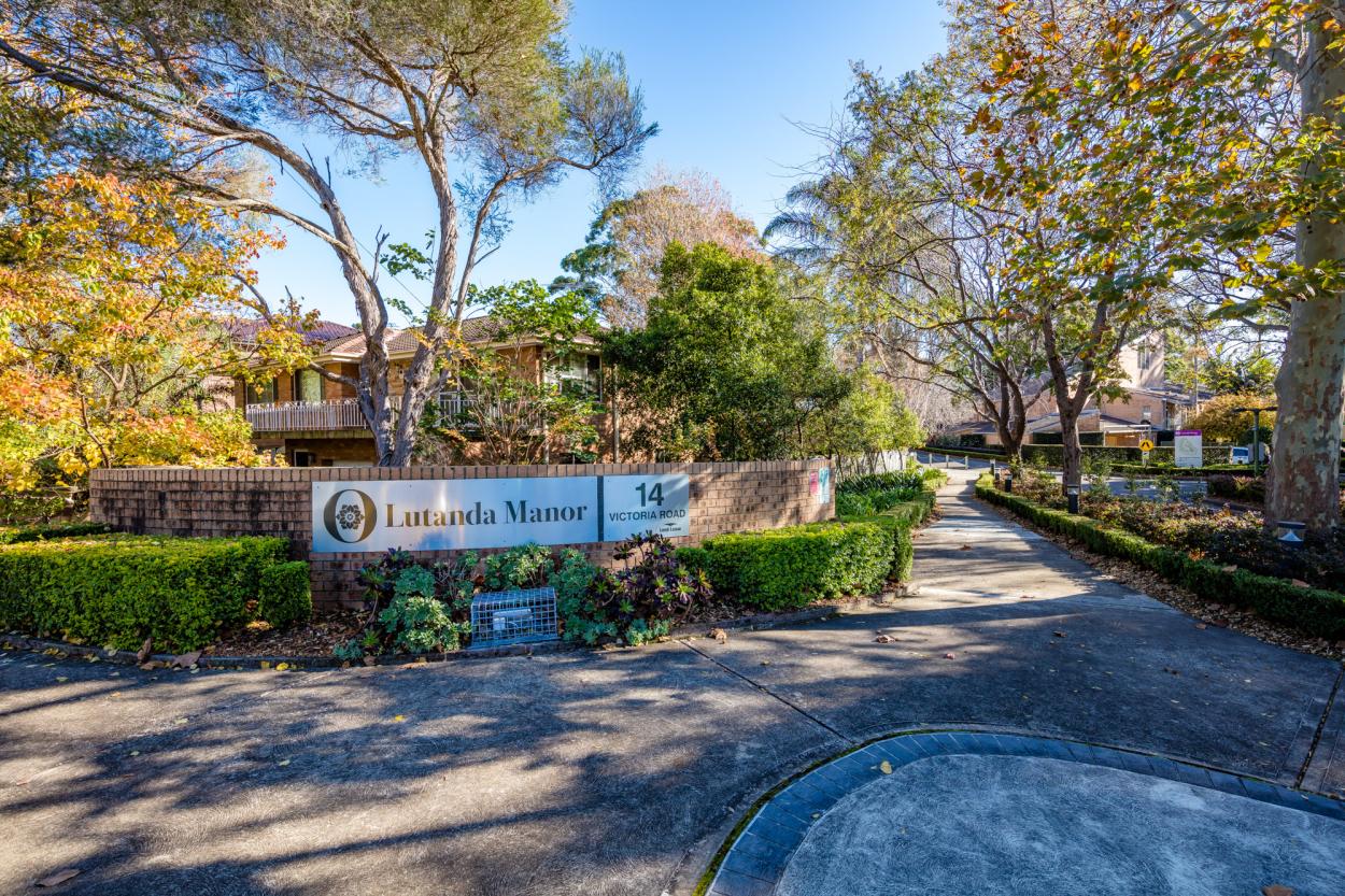 Lutanda Manor  14 Victoria Road - Pennant Hills 1715 Retirement Property for Sale