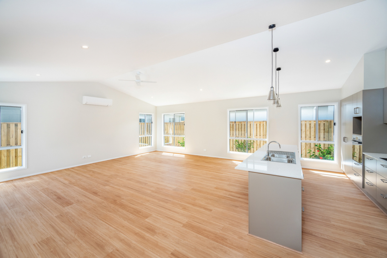Bespoke design, spacious open plan living.