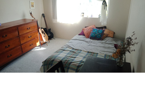 Large Unfurnished Room in 2 Bedroom Unit