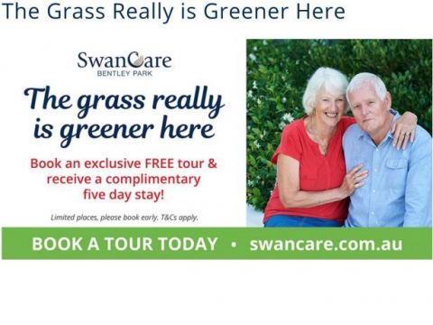 SwanCare Offer - the Grass Is Really Greener Here!