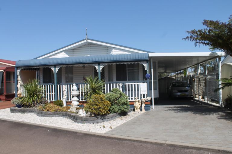 Site 41 at Teraglin Lakeshore Home Village