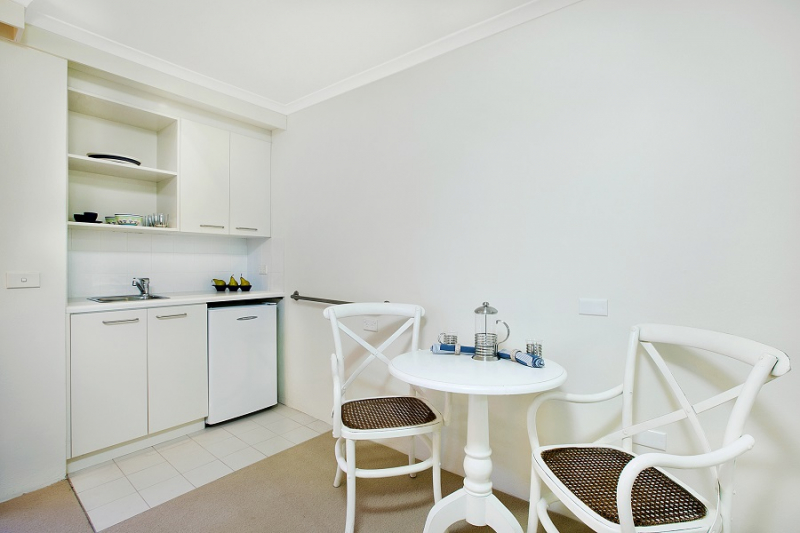 Independent living units and serviced apartments available for rent!