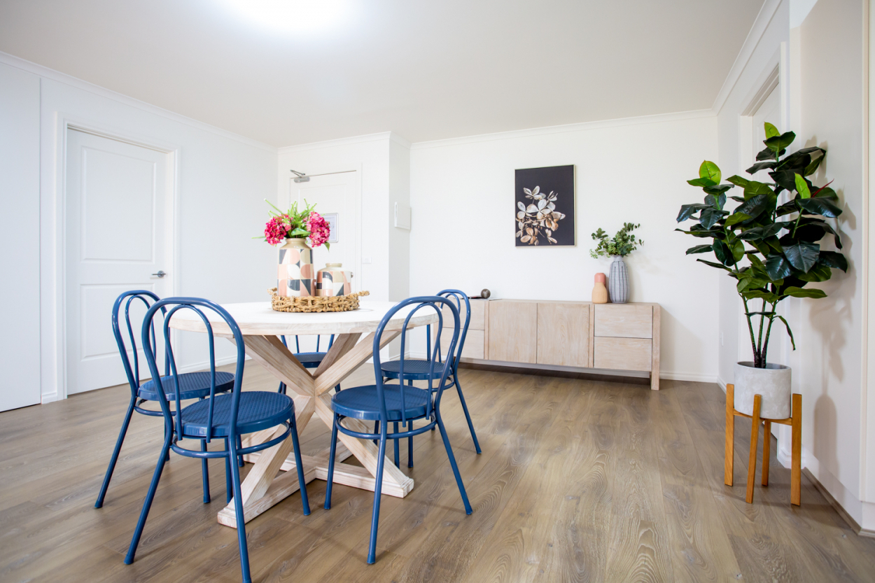 Spacious apartments with study, fantastic established village community