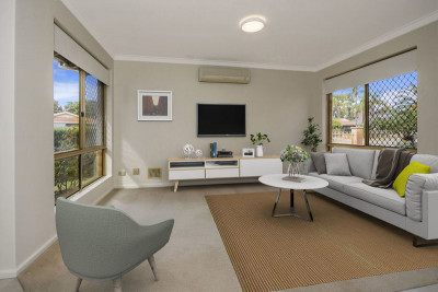 22 Victoria Estate – Recently refreshed, light and bright home situated in a coveted corner position and surrounded by lovely gardens