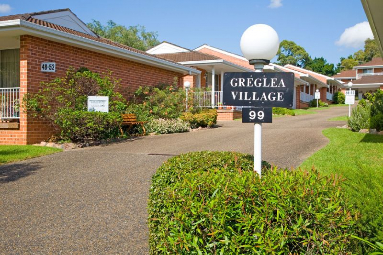 Retire to affordable serviced apartment living at Greglea