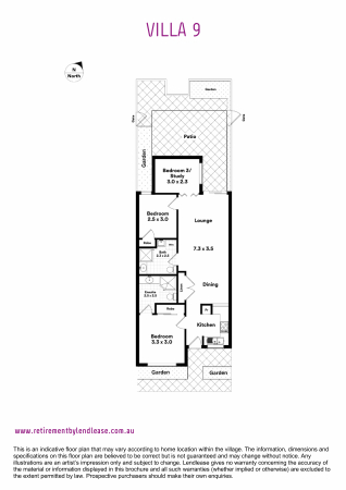 Location, location, location – Close to fabulous amenities and transport
