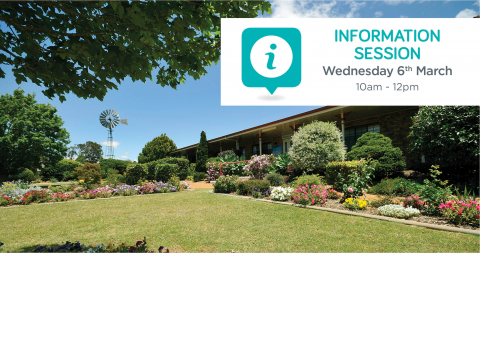 You're invited to Drayton Villas' information session