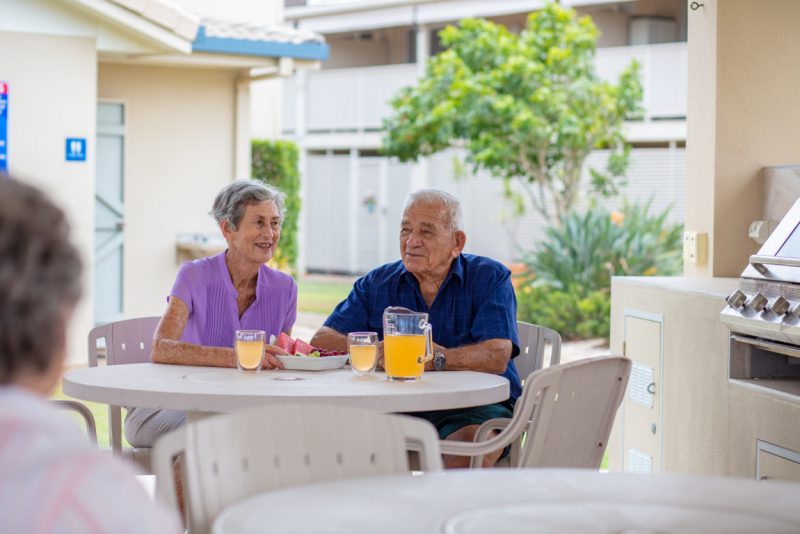 Retirement living with care and support