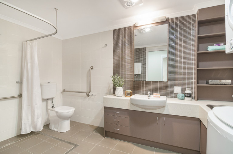 Private two bedroom apartment with care & support services available