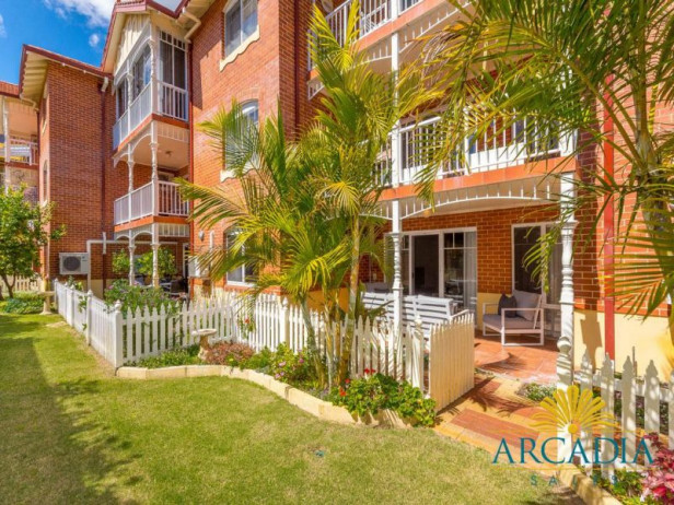 ARCADIA WATERS SWANBOURNE - Ground Floor, North Facing with Garden Terrace