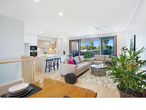 The Lindfield - Seachange Riverside Coomera (designed for over 50s)