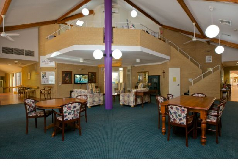 Hale Hostel adjoins the Len Packham Reserve oval in the southern Perth suburb of Coolbellup.