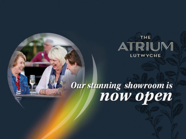 Our stunning showroom is now open!   The Atrium Lutwyche
