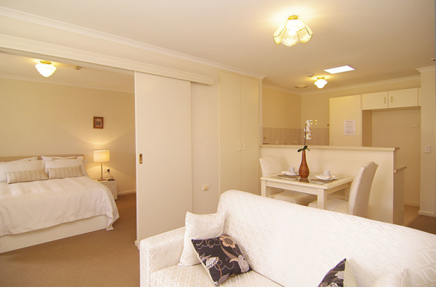 Spacious and stylish serviced apartment