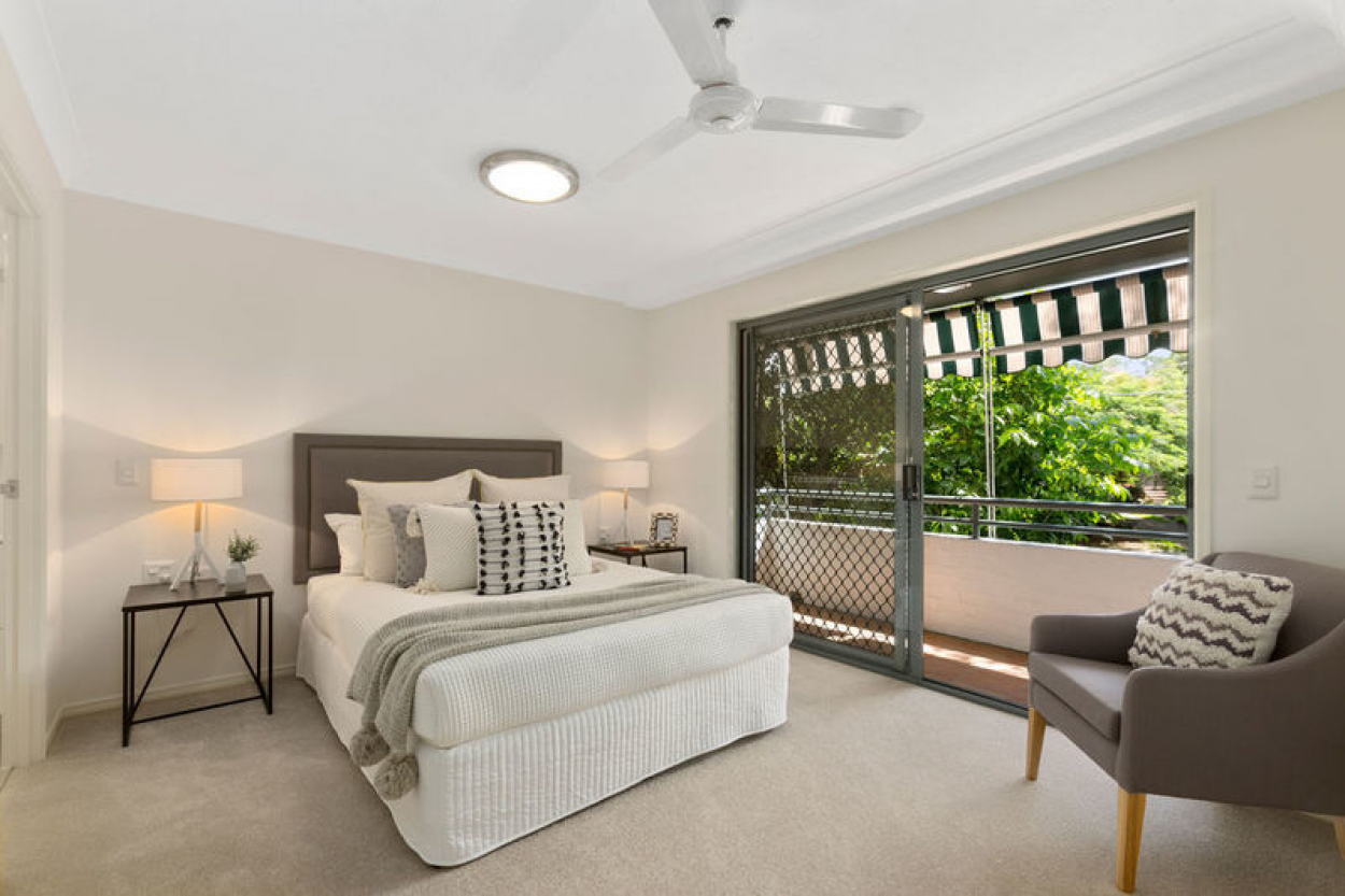 Stunning corner living with spectacular garden surroundings
