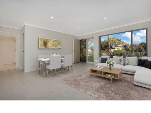 Fully upgraded home just waiting for you! Boasting brilliant living spaces, tiled floors throughout and a larger yard, what more could you want?