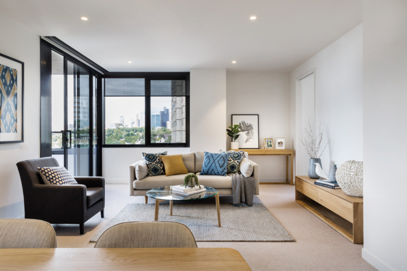 Inner City Living at Drummond Place