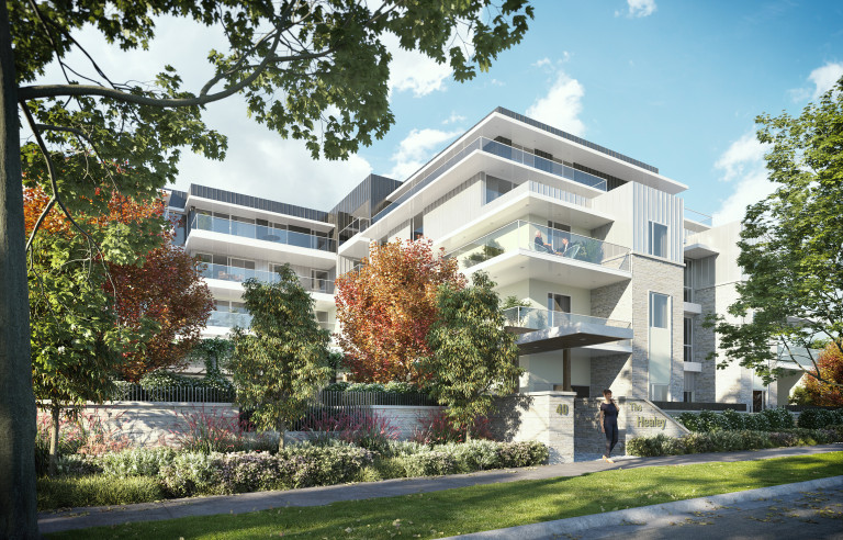 The Healey Retirement Village - 3 Bedroom Unit - Moorabbin - VIC