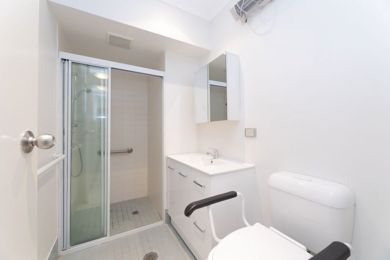 Renovated serviced studio apartment offers blissful native bushland outlook