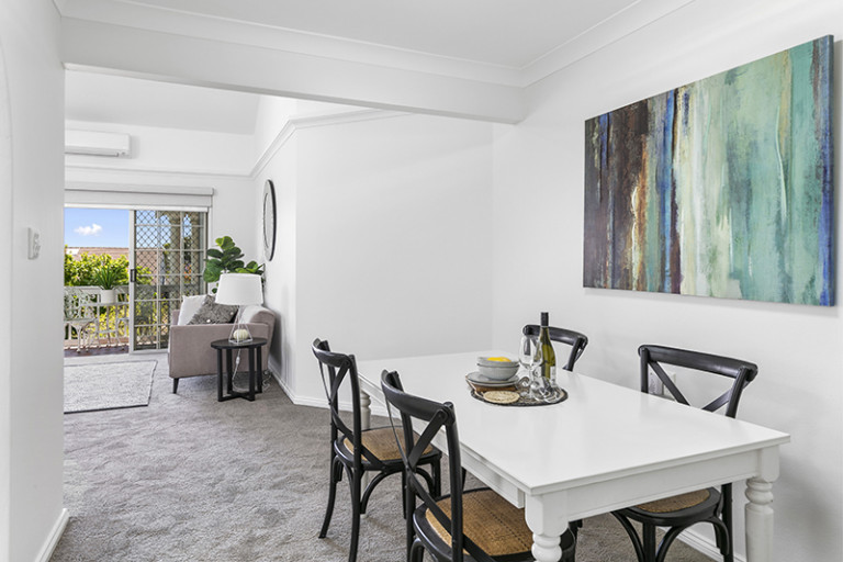 Tranquil and private renovated unit