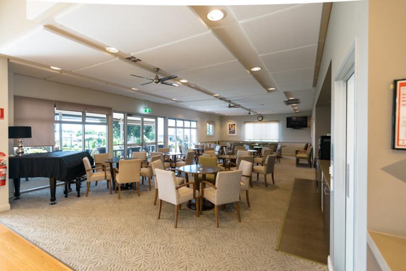 Resort style living at Fig Tree Retirement Village