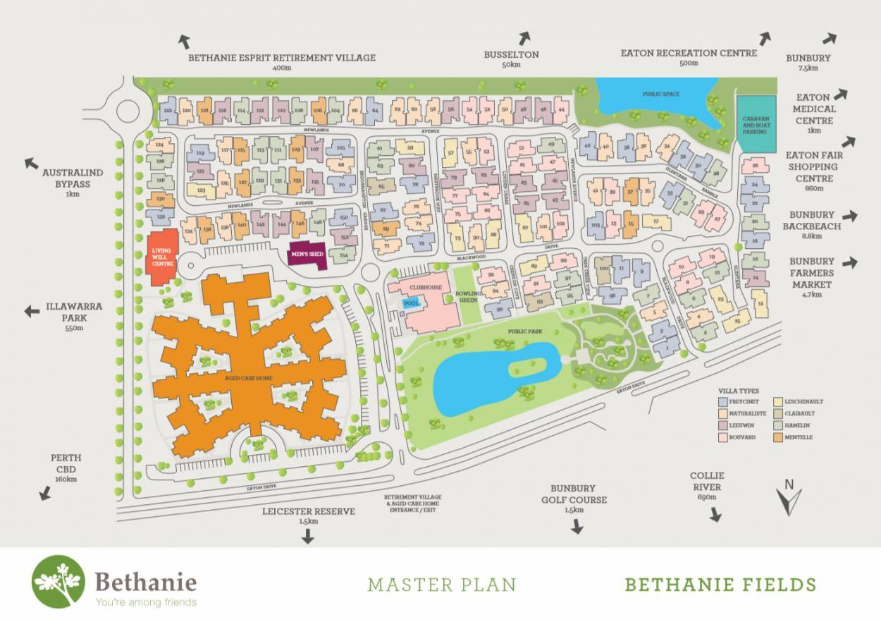 Bethanie Fields Retirement Village 111  Eaton Drive - Eaton 6232 Retirement Property for Sale
