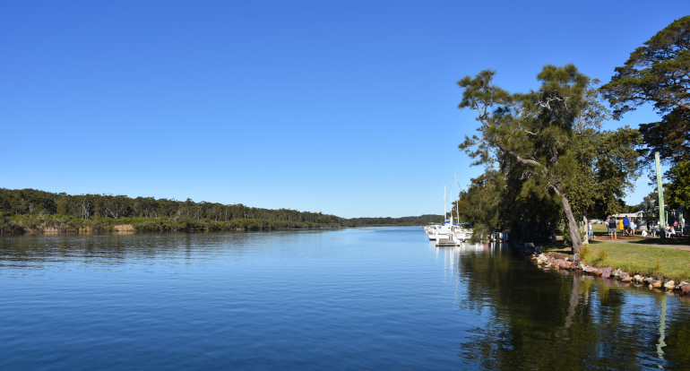 Vicki And Mark Rayner Have Moved Between Three Hometown Australia Communities In Just Six Years, Including One At Sussex Inlet In NSW (pictured)