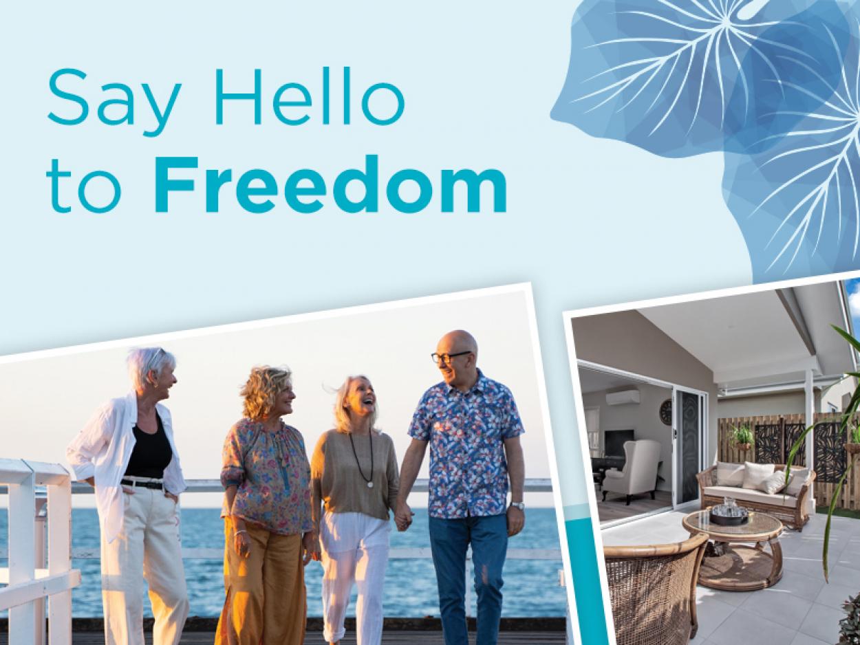 Say hello to Freedom at Ingenia Lifestyle