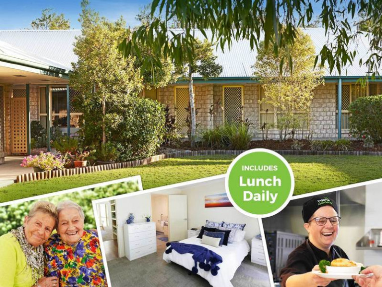 Rental in Retirement Community - Couples Unit with Lunch Daily.
