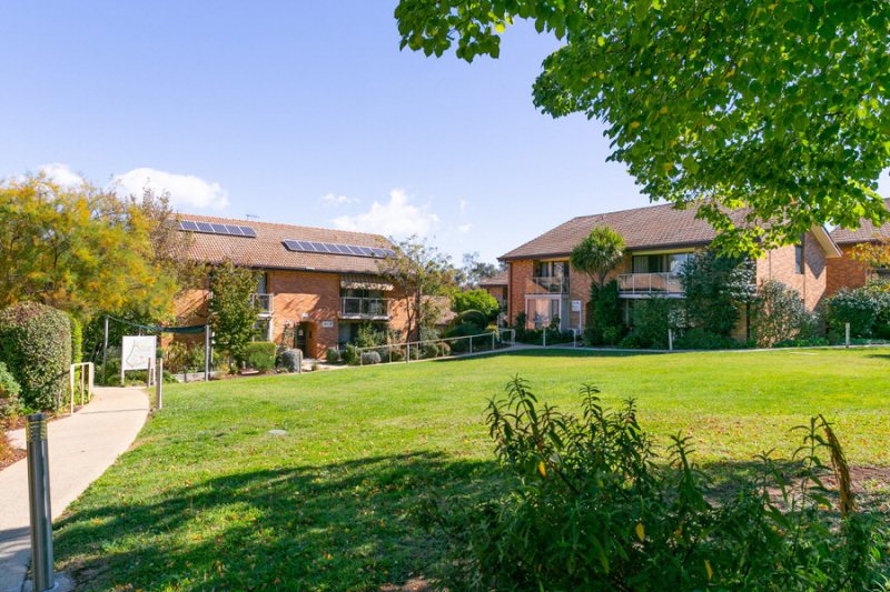 Tranquil location in beautifully landscaped gardens.