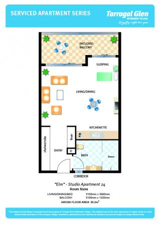 Lovely Ground Floor Studio Apartment!