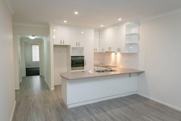 Fully refurbished ground floor home