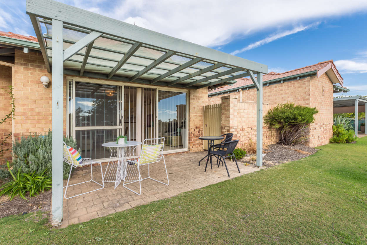 With an outlook across to the park and situated in a quiet corner of the village, this home has everything you need