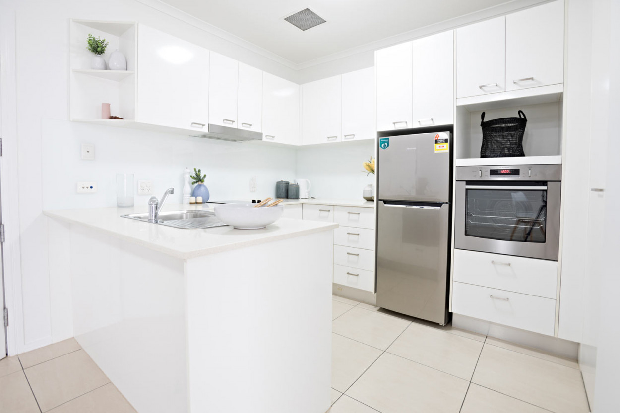Spacious and modern 2-bedroom apartment