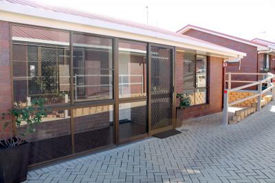 Unit 53 – enclosed patio