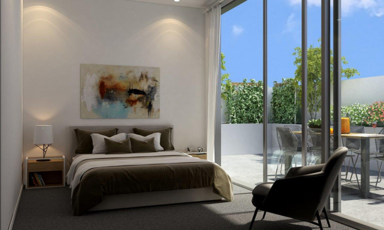Contemporary two-bedroom apartment with high-end finishes