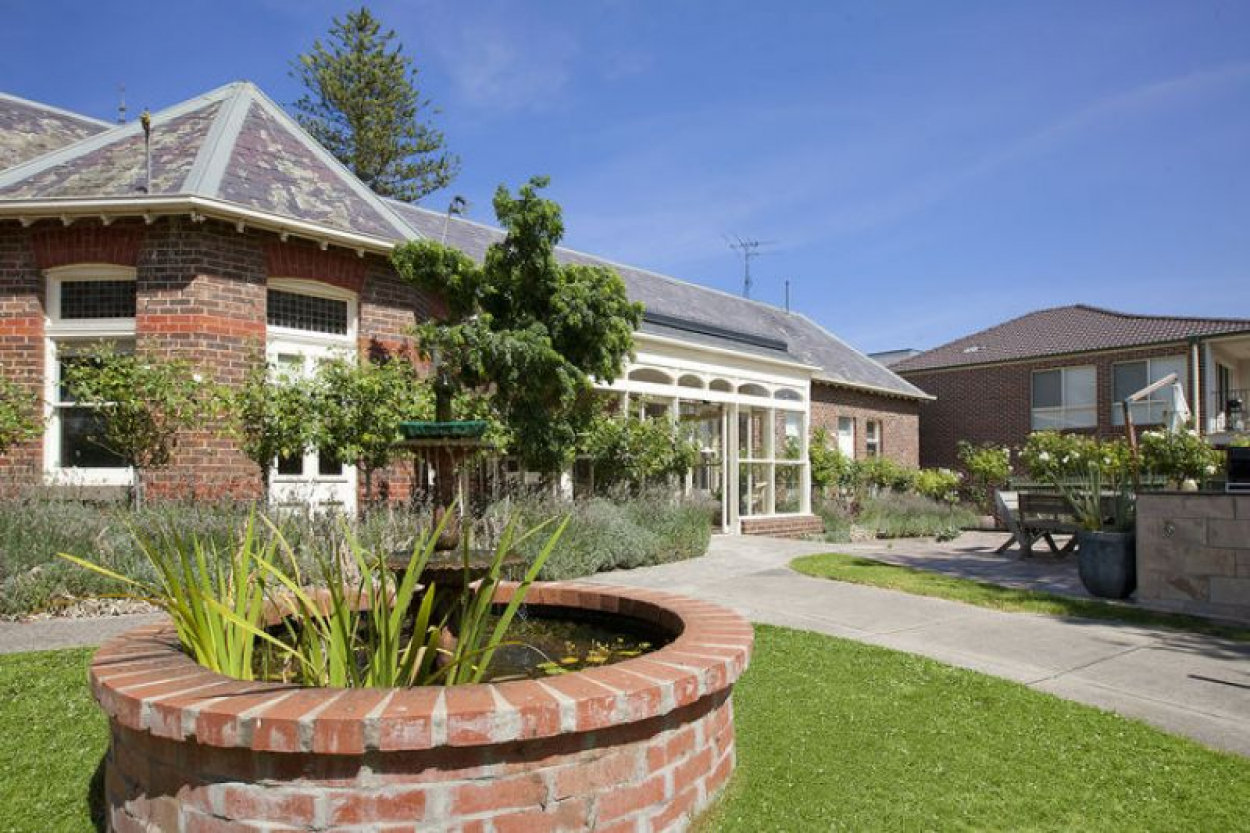 Private retirement living unit at Morven Manor