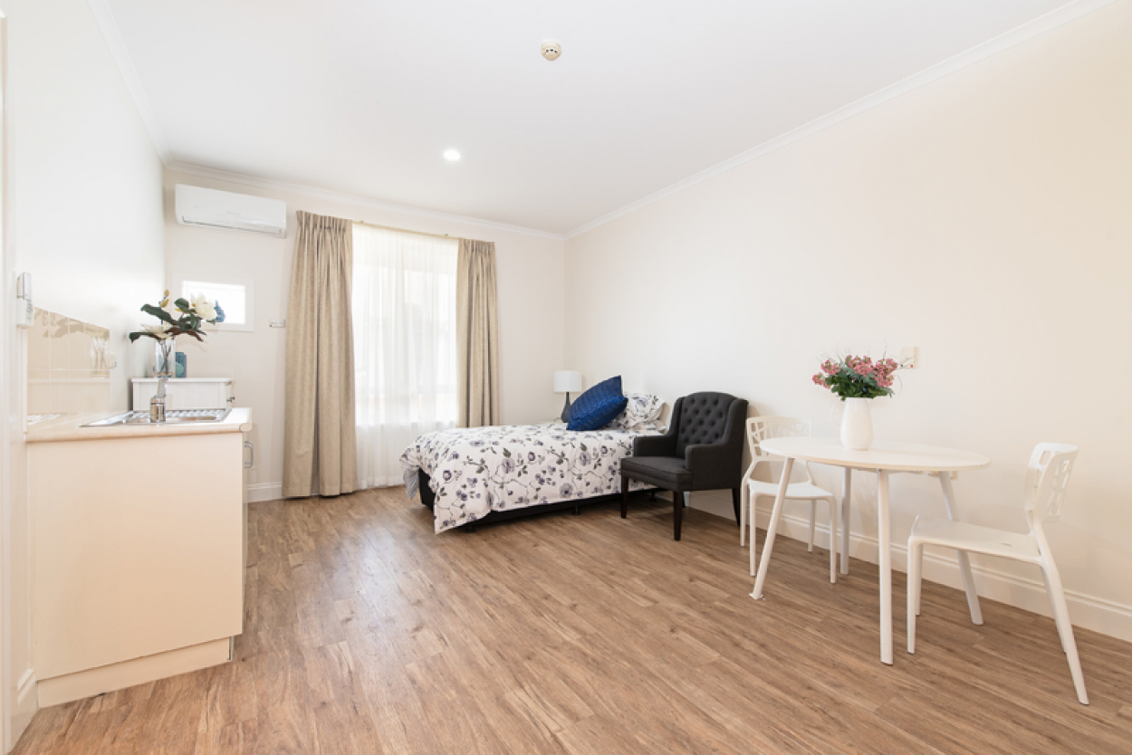 Affordable and spacious care apartment