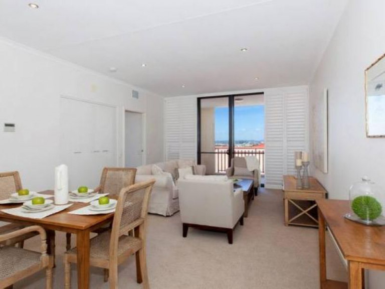 Elevated two bedroom apartment with views