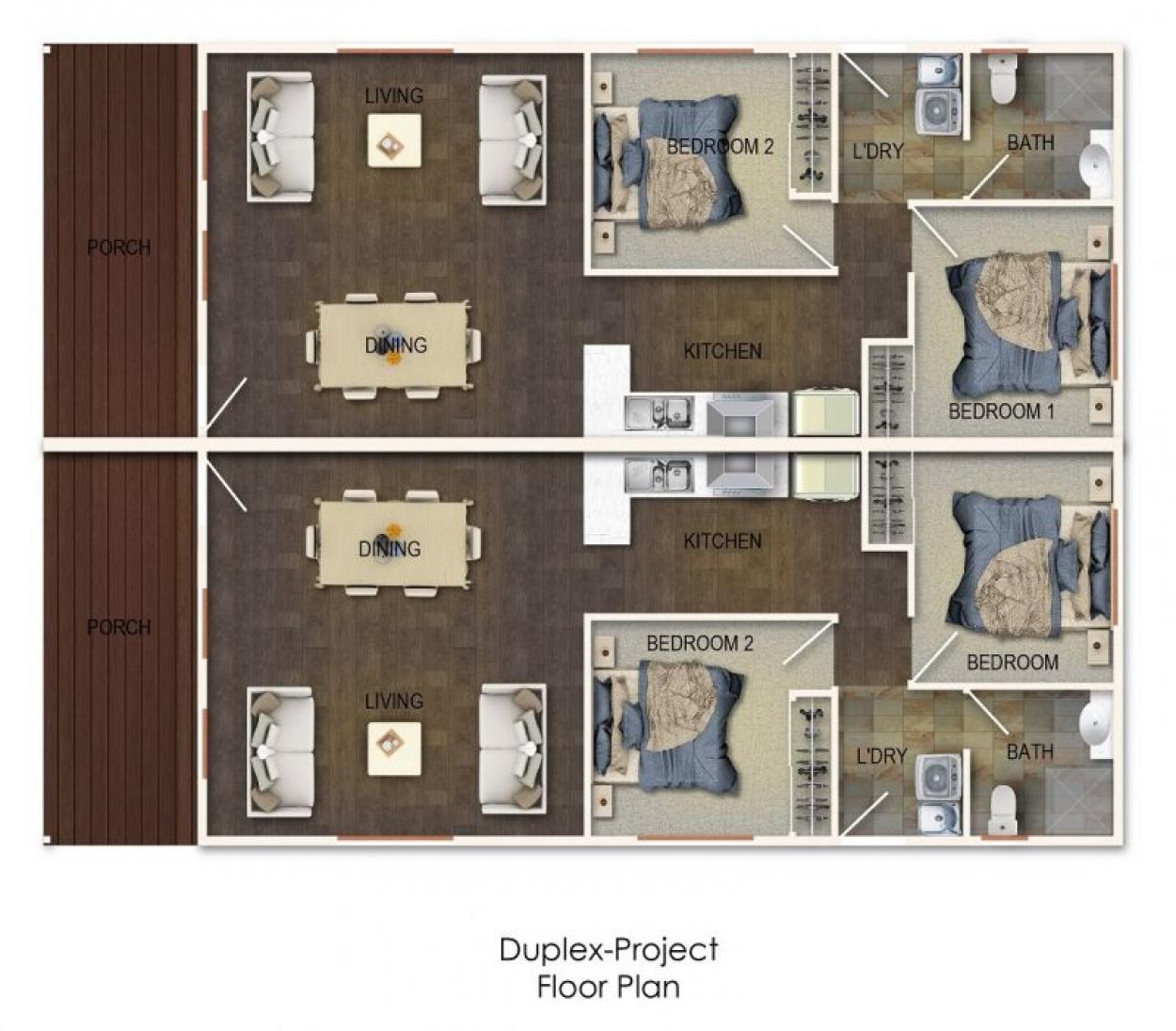 Duplex coming to site 120 at Pelican Shores