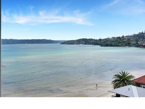 Rose Bay Towers 4th Floor Studio $1Million View for a fraction of the price.