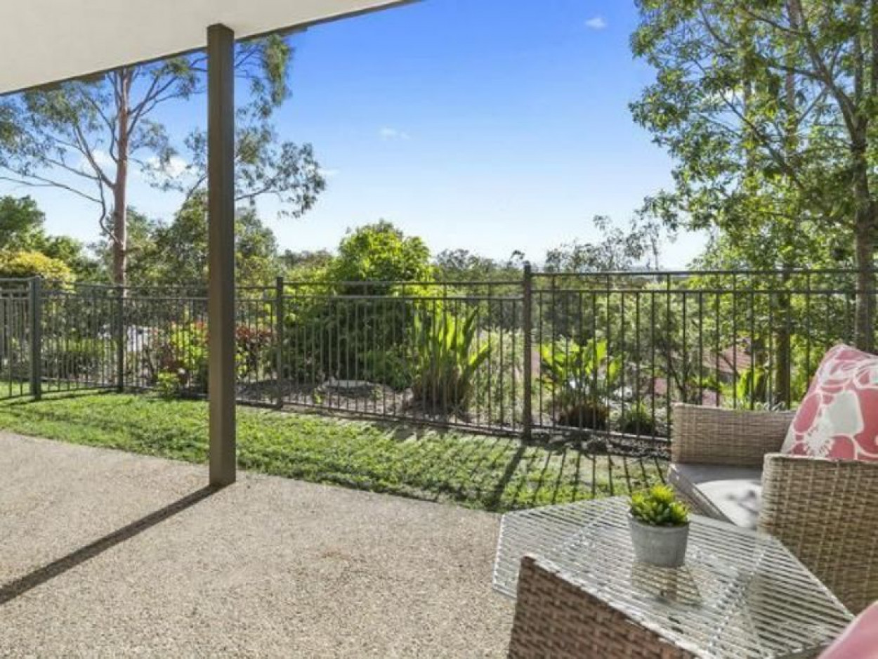 Private and spacious with a backyard setting