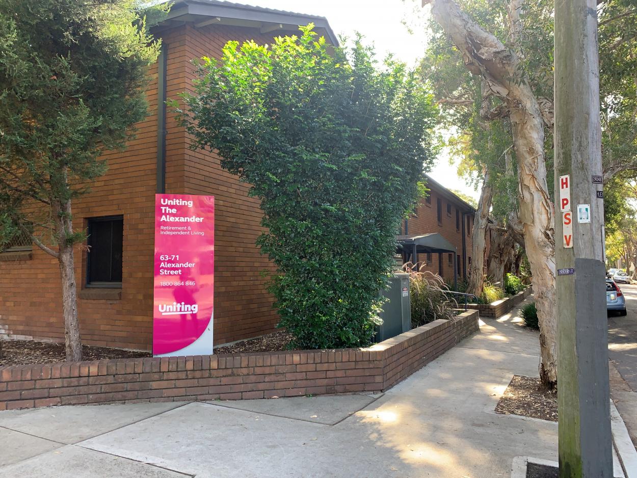 Inner City Studio Apartment at The Alexander 3 71 Alexander Street - Alexandria 2015 Retirement Property for Rental
