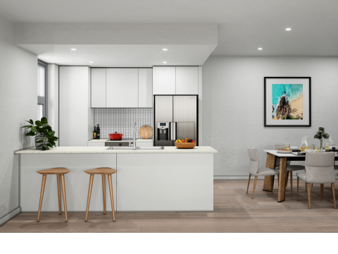 Coastal Living in Wollongong - 2 Bedrooms & 2 Carspaces with Huge Courtyard