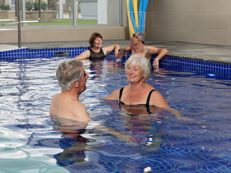 Resort style retirement - Multi-million dollar leisure centre