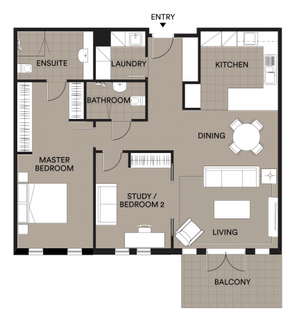 Bright and Spacious Apartment on the 1st Floor