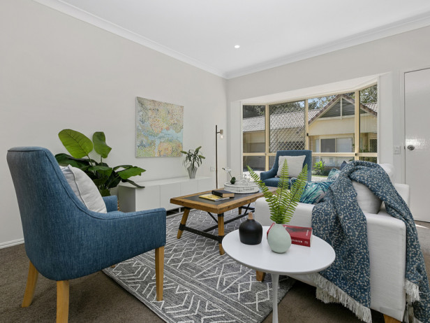 Spacious unit with tranquil pine forest surrounds