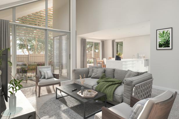 North facing Three-bedroom villa - Deborah Cheetham Retirement Village - Ryman Healthcare